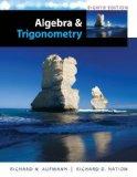 Algebra and Trigonometry:   2014 9781285449425 Front Cover