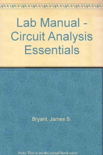 Circuit Analysis Essentials  2006 (Lab Manual) 9781401850425 Front Cover