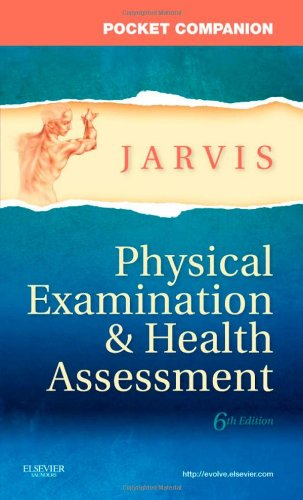 Pocket Companion for Physical Examination and Health Assessment  6th 2011 9781437714425 Front Cover