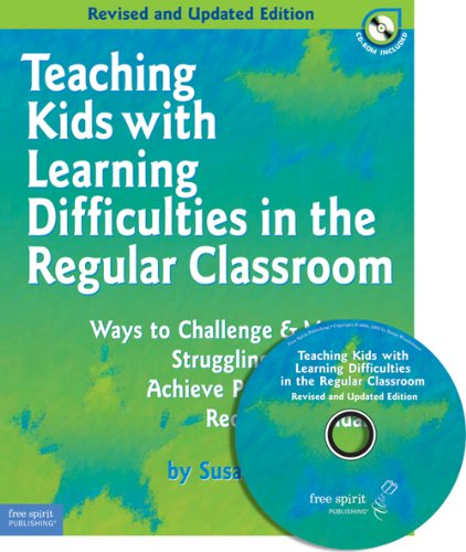 Teaching Kids with Learning Difficulties in the Regular Classroom Ways to Challenge and Motivate Struggling Students to Achieve Proficiency with Required Standards N/A edition cover