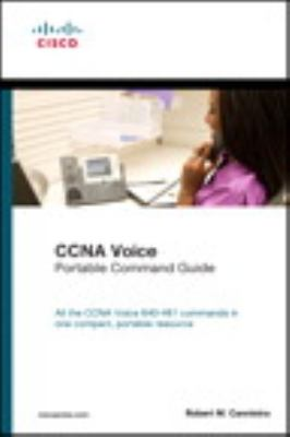 CCNA Voice Portable Command Guide   2013 (Revised) 9781587204425 Front Cover