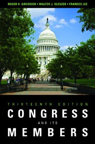 Congress and Its Members  13th 2012 (Revised) edition cover