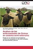 Analisis de Las Enfermedades de Ovinos En Sistema Semi-Extensivo  0 edition cover