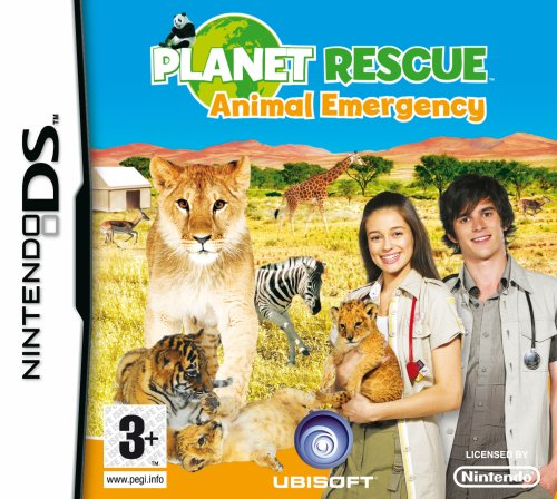Planet Rescue: Animal Emergency (Nintendo DS) Nintendo DS artwork