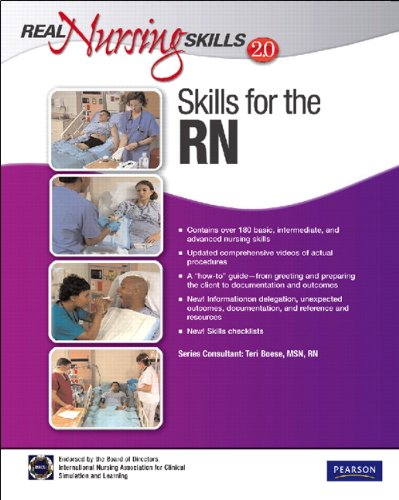 Real Nursing Skills 2. 0 Skills for the RN 2nd 2010 edition cover