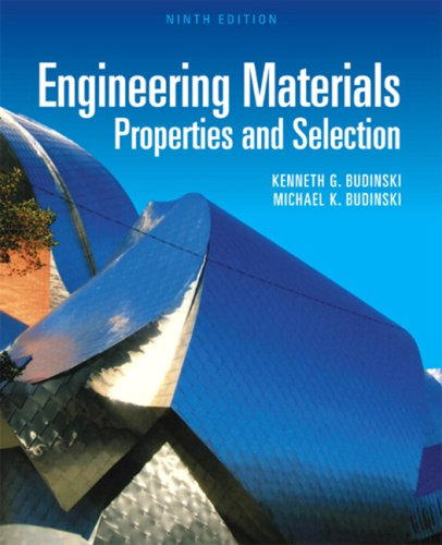 Engineering Materials Properties and Selection 9th 2010 edition cover
