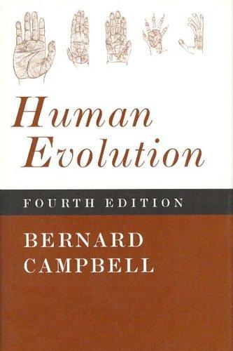 Human Evolution  4th 1998 edition cover