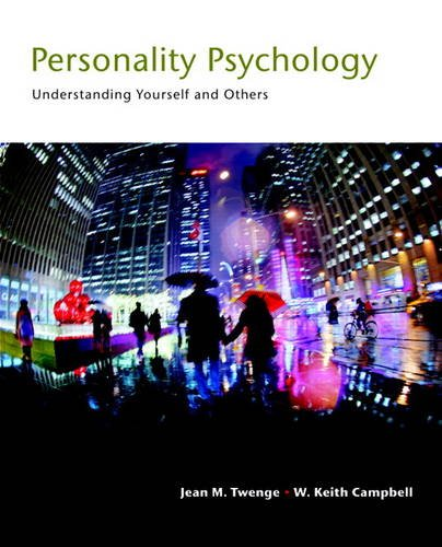 Personality Psychology Understanding Yourself and Others  2017 9780205917426 Front Cover