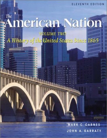 American Nation A History of the United States 11th 2003 edition cover