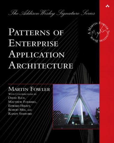 Patterns of Enterprise Application Architecture   2003 edition cover