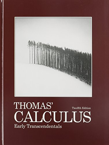 Thomas' Calculus Early Transcendentals with 9780321431301 MyMathLab/MyStatLab -- Glue-In Access Card and Sticker  12th 2012 edition cover