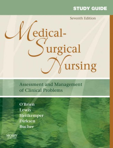 Medical-Surgical Nursing Assessment and Management of Clinical Problems 7th 2007 (Revised) edition cover