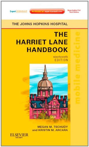 Harriet Lane Handbook Mobile Medicine Series, Expert Consult: Online and Print 19th 2011 edition cover