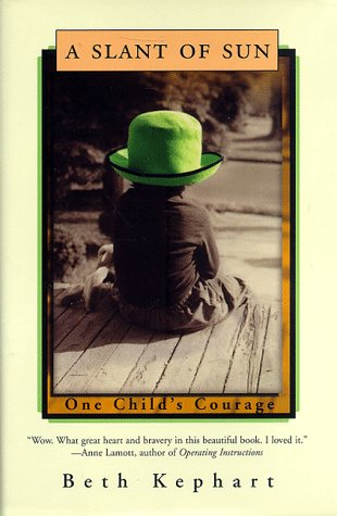 Slant of Sun One Child's Courage N/A 9780393027426 Front Cover
