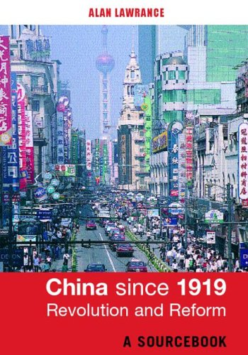 China since 1919 - Revolution and Reform A Sourcebook  2003 edition cover