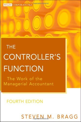 Controller's Function The Work of the Managerial Accountant 4th 2011 edition cover