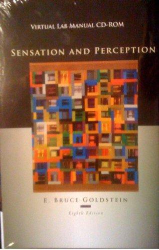 Sensation and Perception  8th 2010 edition cover