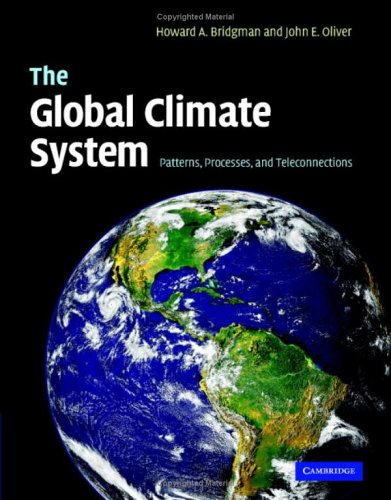 Global Climate System Patterns, Processes, and Teleconnections  2006 edition cover