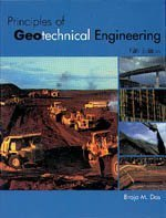 Principles of Geotechnical Engineering  5th 2002 edition cover