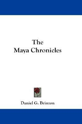 Maya Chronicles  N/A edition cover