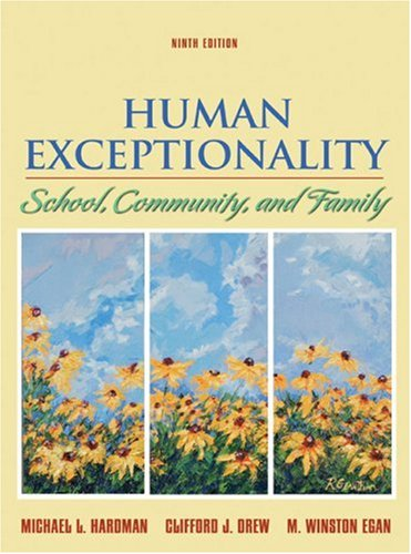 Human Exceptionality School, Community, and Family 9th 2008 edition cover