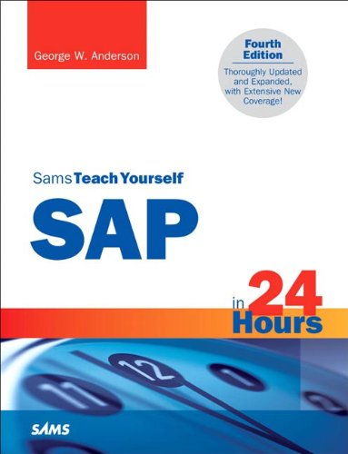 Sams Teach Yourself SAP in 24 Hours  4th 2011 (Revised) edition cover