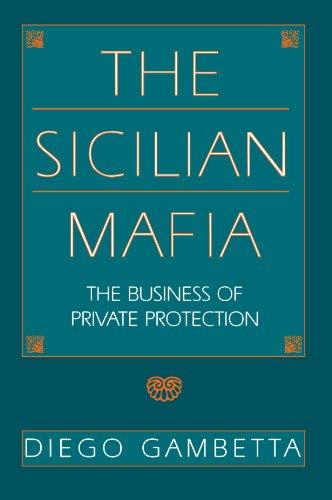 Mafia Siciliana   1993 9780674807426 Front Cover