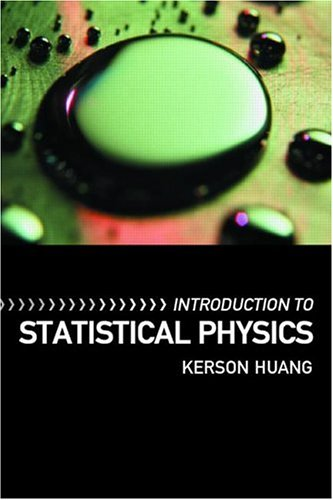 Introduction to Statistical Physics   2001 9780748409426 Front Cover