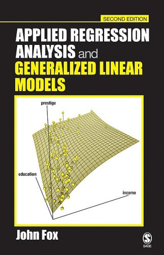 Applied Regression Analysis and Generalized Linear Models  2nd 2008 edition cover