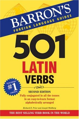 501 Latin Verbs  2nd 2008 edition cover