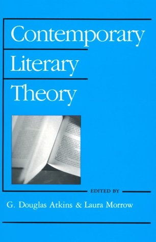 Contemporary Literary Theory N/A edition cover