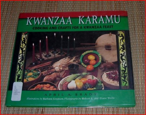 Kwanzaa Karamu Cooking and Crafts for a Kwanzaa Feast  1995 9780876148426 Front Cover