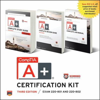 CompTIA A+ Certification Kit Exam 220-801 and 220-802 2nd 2012 9781118388426 Front Cover