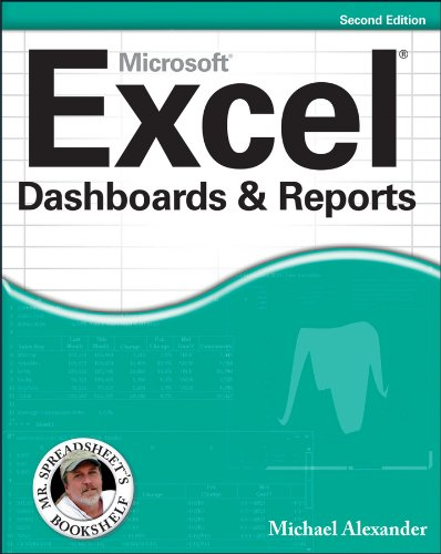 Mircrosoft Excel Dashboards and Reports  2nd 2013 edition cover