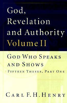 God Who Speaks and Shows  1999 (Reprint) edition cover