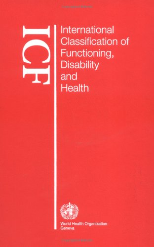 International Classification of Functioning, Disability and Health   2001 (Revised) edition cover