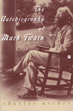 Autobiography of Mark Twain  N/A edition cover