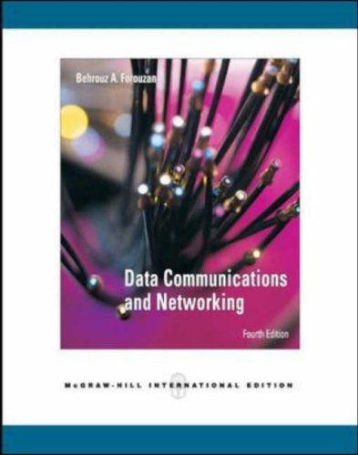 Data Communications Networking N/A edition cover