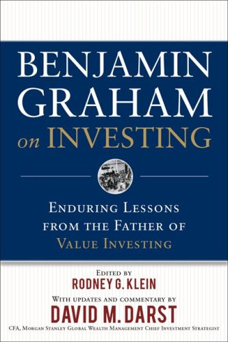 Benjamin Graham on Investing Enduring Lessons from the Father of Value Investing  2009 edition cover