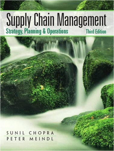 Supply Chain Management Strategy, Planning, and Operation 3rd 2007 (Revised) edition cover