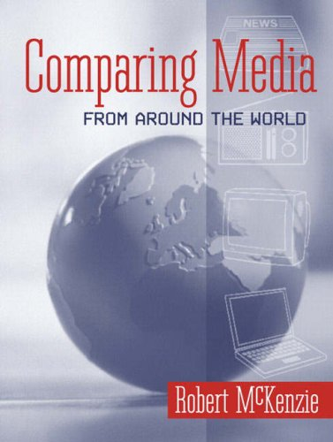 Comparing Media from Around the World   2006 edition cover