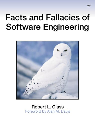 Facts and Fallacies of Software Engineering   2003 edition cover