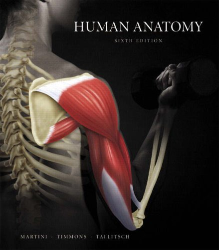 Human Anatomy  6th 2009 edition cover