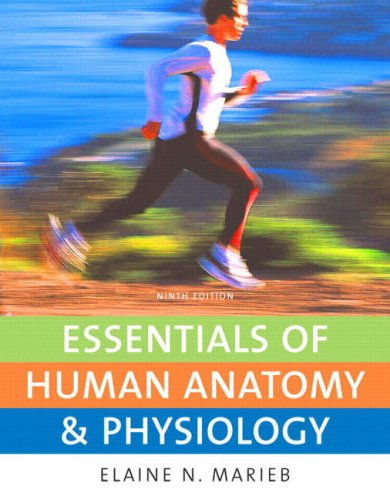 Essentials of Human Anatomy and Physiology  9th 2009 edition cover