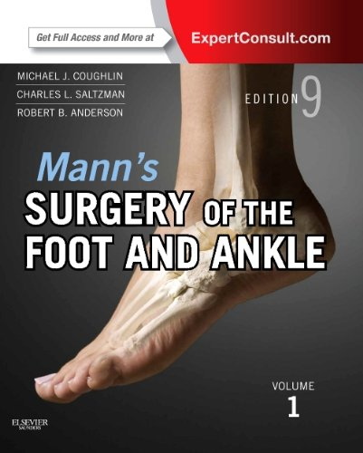 Mann's Surgery of the Foot and Ankle: Expert Consult Premium Edition  2013 edition cover