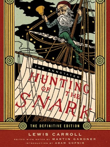 Annotated Hunting of the Snark   2006 edition cover