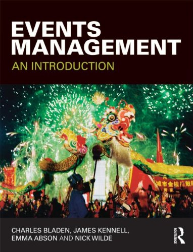 Events Management An Introduction  2012 edition cover