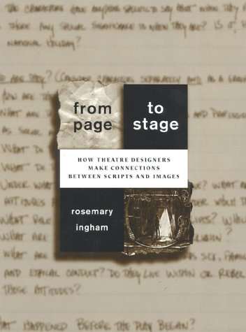 From Page to Stage How Theatre Designers Make Connections Between Scripts and Images N/A edition cover