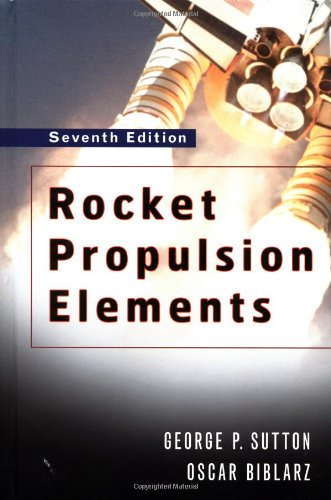 Rocket Propulsion Elements  7th 2001 (Revised) edition cover
