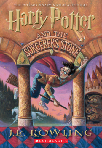 Harry Potter and the Sorcerer's Stone   1997 edition cover